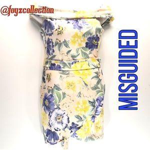 Misguided floral body con za-26